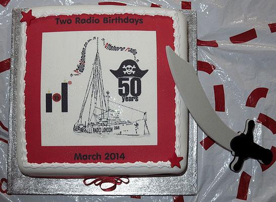 Th Radio Caroline Birthday Cake Pics
